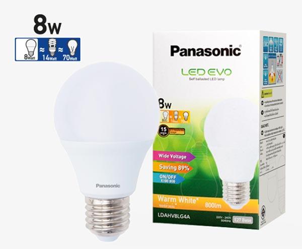 Bóng đèn Led 8W LDAHV4D04A Panasonic