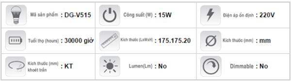 Den-Led-downlight-am-tran-Duhal-DG-V515-15W