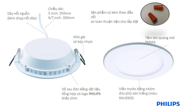 den downlight led philips