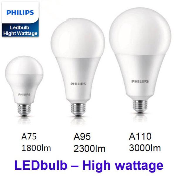 đèn led philips công suất cao