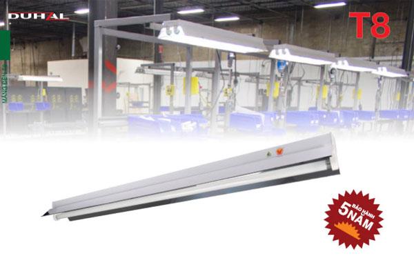 Máng đèn công nghiệp chóa phản quang T8 1m2 LDH140 Duhal