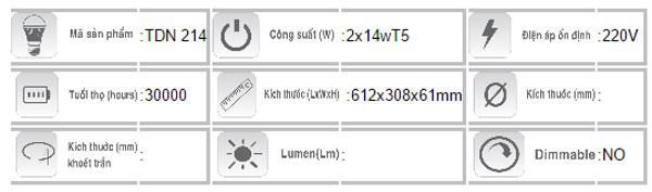 Mang-den-huynh-quang-T5-Duhal-TDN214