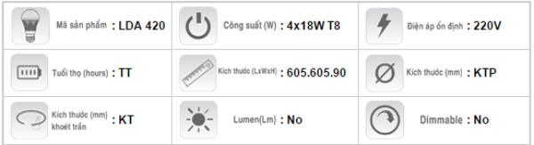Mang-den-huynh-quang-am-tran-Duhal-LDA-420-4x18W