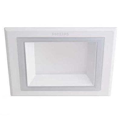 Đèn led âm trần vuông 9W MARCASITE 59526 Philips