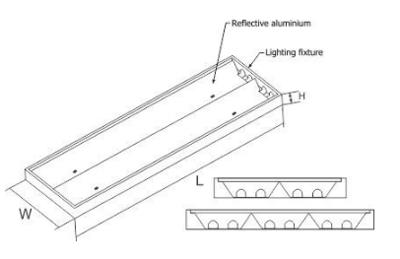 Thiết kế kỹ thuật của bộ đèn PSFE Paragon