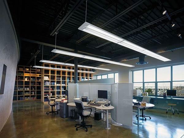 Ứng dụng bộ đèn led trao trần trong văn phòng
