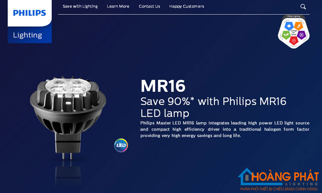 den master led 7w philips
