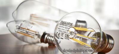 Đèn Led Classic 2-25W B35 E14 Philips