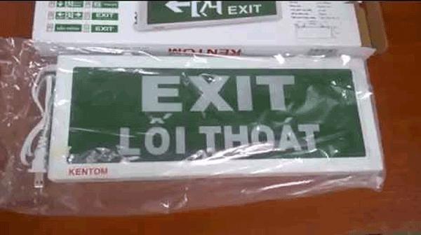 Đèn exit A-120 Kentom