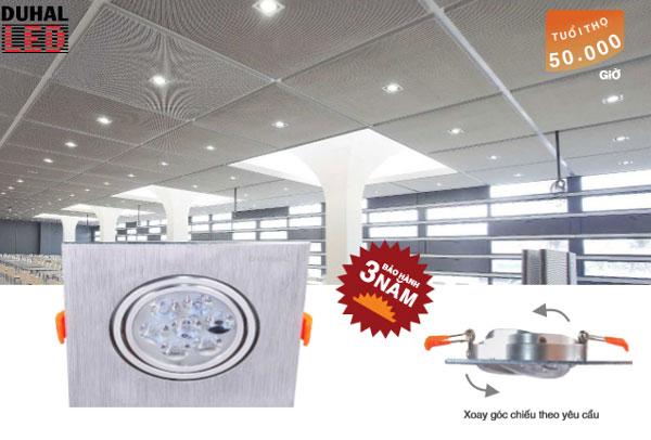 Đèn led âm trần chiếu điểm 6W DFC802 Duhal