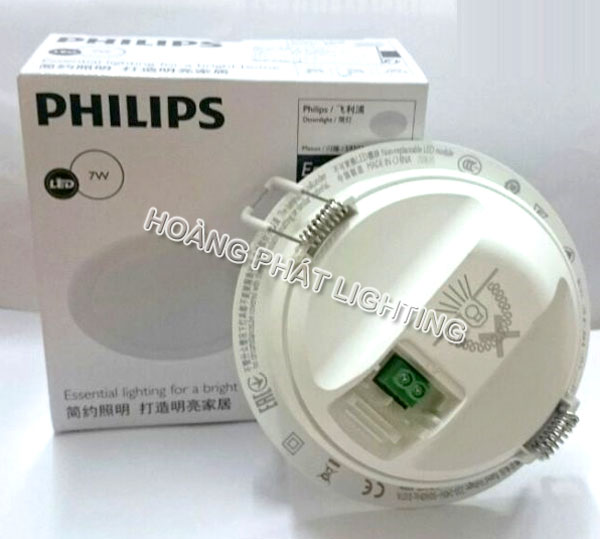 Đèn Led downlight MESON 7W 59202 Philips