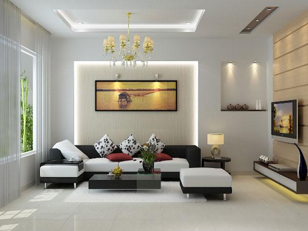 Đèn led aamtraafn vuông trang trí phòng khách