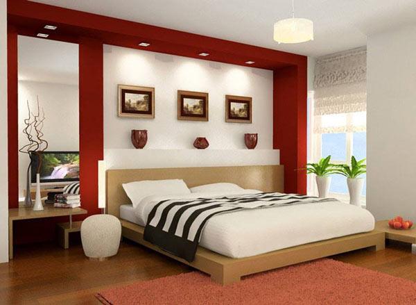 Đèn led âm trần Paragon trang trí phòng ngủ