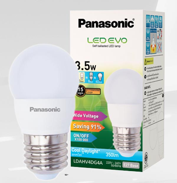 Bóng đèn Led 3.5W LDAHV4D04A Panasonic