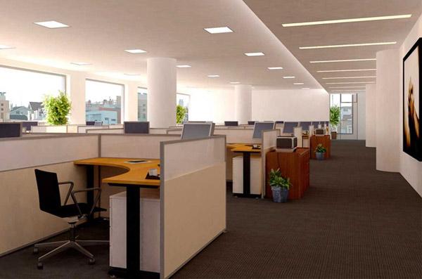 Ứng dụng bộ đèn trong chiếu sáng văn phòng