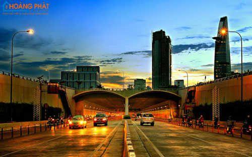 Thiết kế đèn led rạng đông đường phố giảm tình trạng ô nhiễm