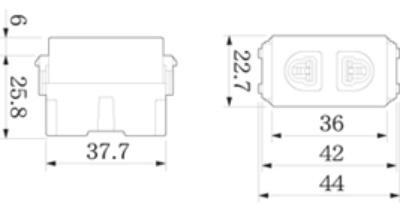 o-cam-don-2-chau-co-mang-che-WEV1081-Panasonic
