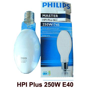 Bóng đèn cao áp 250W Philips HPI Plus dạng bầu