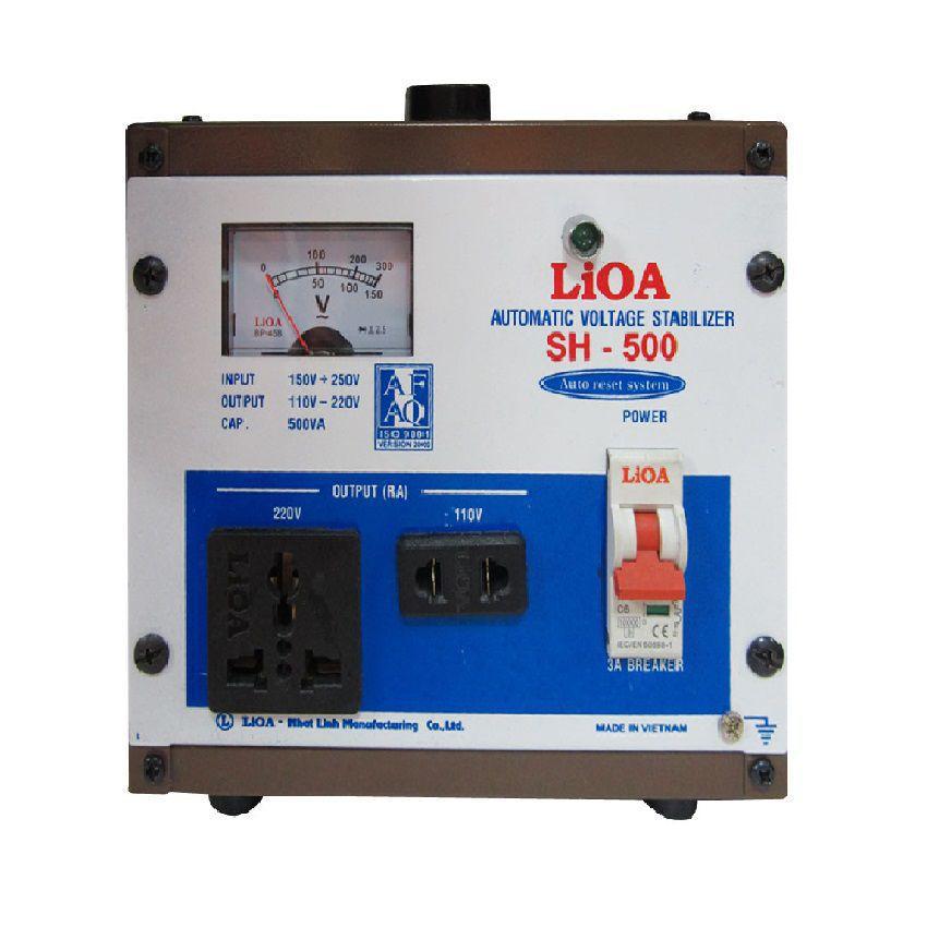 Ổn áp Lioa 0,5kva SH500