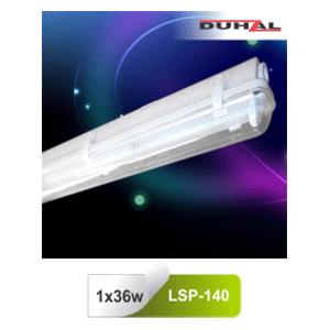 Máng đèn chống thấm LSP 140 Duhal T8