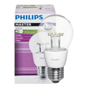 Bóng đèn MAS LEDbulb DT 6-40W E27 A60 CL Dim Philips