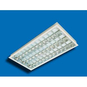 Máng đèn huỳnh quang âm trần PRFK 218 Paragon 2x18W