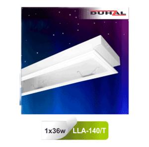 Máng đèn tán quang âm trần mica LLA 140/T Duhal