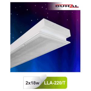 Máng đèn âm trần mica LLA 220/T Duhal