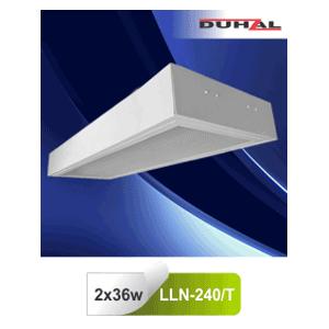 Máng đèn âm trần mica LLA 240/T Duhal