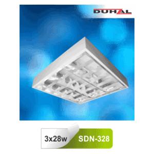 Máng đèn phản quang gắn nổi T5 3x28W SDN 328 Duhal