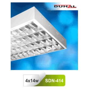 Máng đèn phản quang gắn nổi T5 4x14W SDN 414 Duhal
