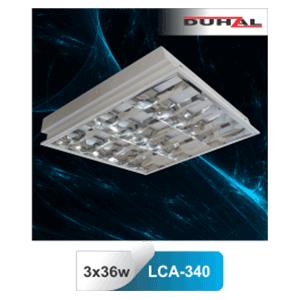 Máng đèn phản quang âm trần T8 3x36W LCA 340 Duhal