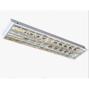 Máng đèn phản quang âm trần 2x18W LBA 220 Duhal