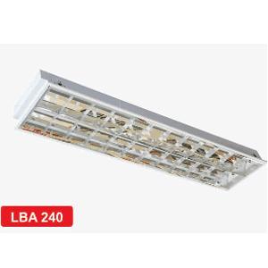 Máng đèn phản quang âm trần 2x36W LBA 240 Duhal