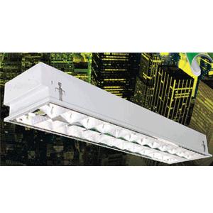 Máng đèn phản quang âm trần 3x36W LBA 340 Duhal