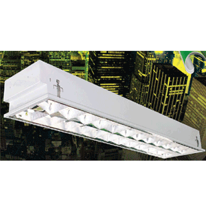 Máng đèn phản quang âm trần 4x36W LBA 440 Duhal