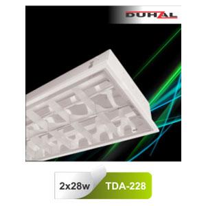 Máng đèn phản quang âm trần T5 2x28W TDA 228 Duhal