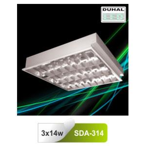 Máng đèn phản quang âm trần T5 3x14W SDA 314 Duhal