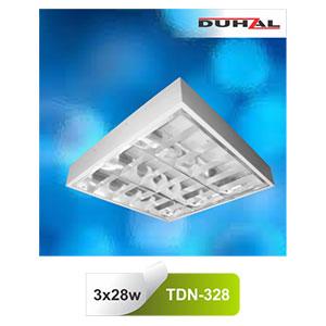 Máng đèn phản quang gắn nổi T5 3x28W TDN 328 Duhal
