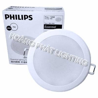 Đèn Led downlight MESON 7W 59202 Philips
