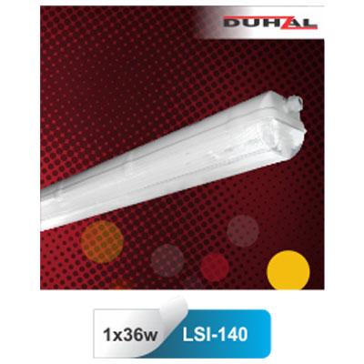 Máng đèn chống thấm T8 1x36W LSI-140 Duhal