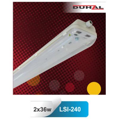 Máng đèn chống thấm T8 2x36W LSI-240 Duhal
