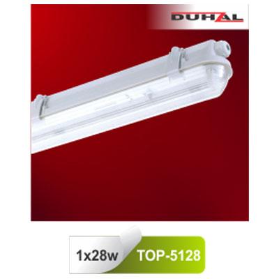 Máng đèn chống thấm T5 1x28W TOP-5128 Duhal
