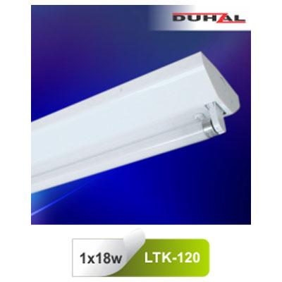 Máng đèn công nghiệp T8 LTK-120 Duhal