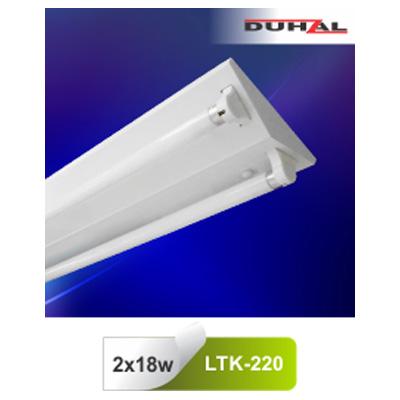 Máng đèn công nghiệp T8 LTK-220 Duhal