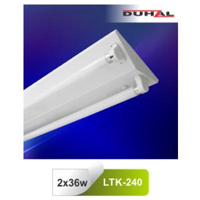 Máng đèn công nghiệp T8 LTK-240 Duhal
