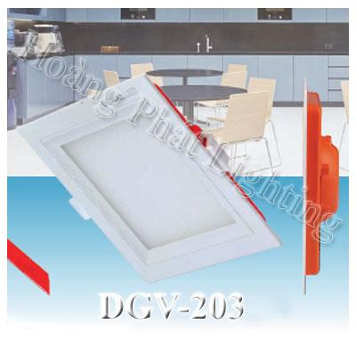 Đèn Led âm trần vuông 3W DGV203 Duhal
