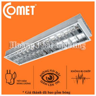 Bộ máng đèn Led âm trần 0m6 3x9W CR306E Comet