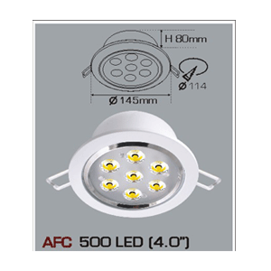 Đèn Led âm trần Anfaco AFC500 LED
