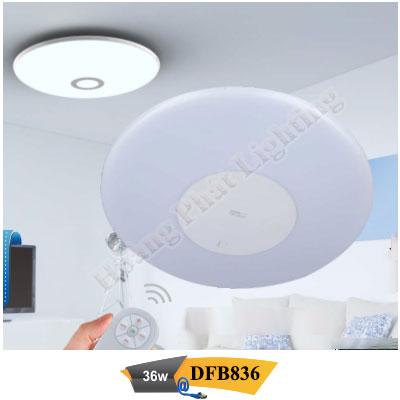 Đèn Led ốp trần điều khiển từ xa 36W DFB836 Duhal